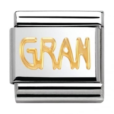 Nomination Classic Gold Gran Charm