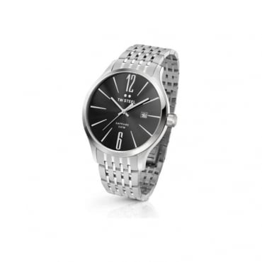 EX-DISPLAY MENS SLIM LINE STEEL WATCH