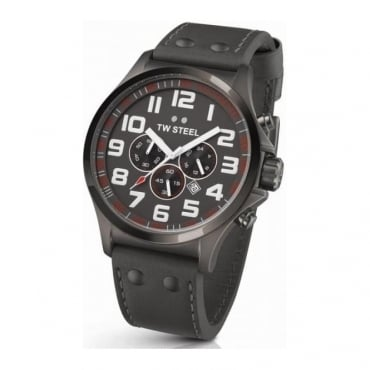 EX-DISPLAY Mens Pilot Chronograph Watch