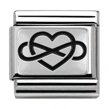 Nomination Sterling Silver Love Collection Infinity Heart