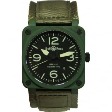 Mens BR03-94 Military Watch