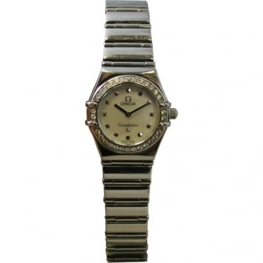 Pre-Owned Omega Ladies Stainless Steel Constellation Watch