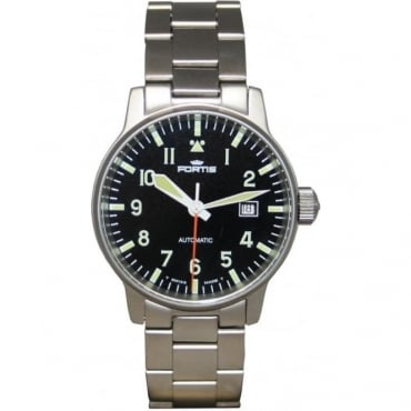 Pre-Owned Fortis Men's Flyer595 Automatic Watch