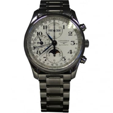 Pre-Owned Longines Men's Stainless Steel Master Collection Watch