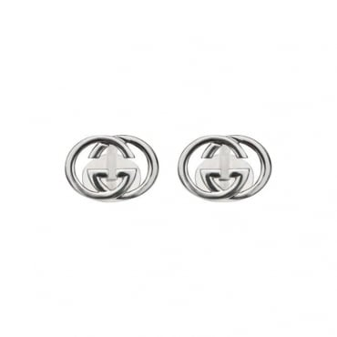 Gents Silver Britt Cufflinks in Sterling Silver