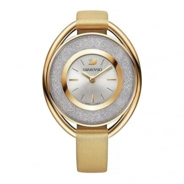 Swarovski Crystalline Oval Gold Tone Watch 5158972