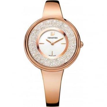 Swarovski Crystalline Pure Watch, Rose Gold Tone 5269250