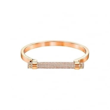 Swarovski Rose Gold Friend Bangle