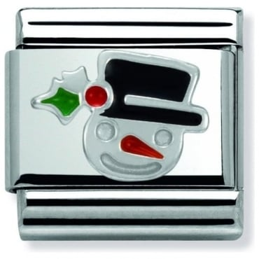 Sterling Silver Christmas Snowman