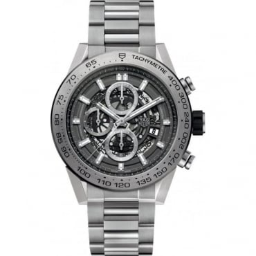 Tag Heuer Men's Carrera Grey Phantom Titanium Watch