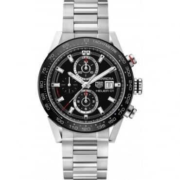 Tag Heuer Men's Stainless Steel Carrera Chronograph Watch