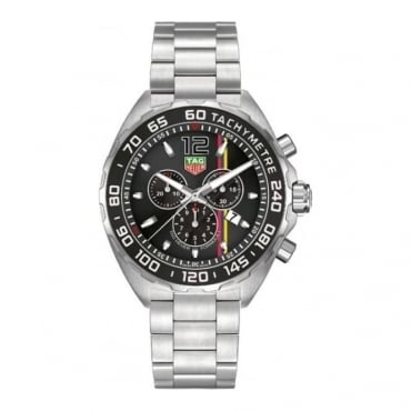 Tag Heuer Men's Stainless Steel Formula 1 James Hunt Watch