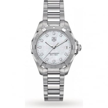 Tag Heuer Ladies Stainless Steel Aquaracer Watch WAY1313.BA0915