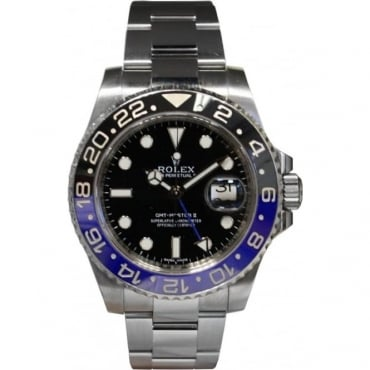 Pre-Owned Rolex Men's Stainless Steel GMT Master II Watch