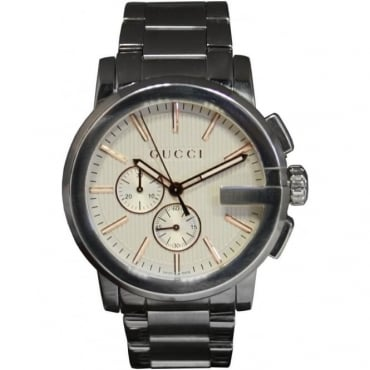 Men's Stainless Steel 'G' Chronograph Watch