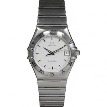 Pre-Owned Omega Men's Stainless Steel Constellation Watch