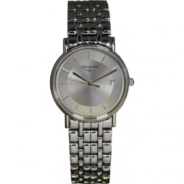 Men's Stainless Steel Longines Watch