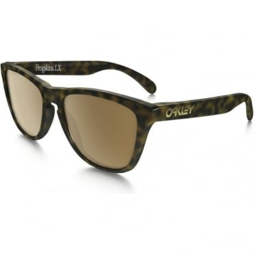 Oakley Frogskin LX Dark Brown Sunglasses
