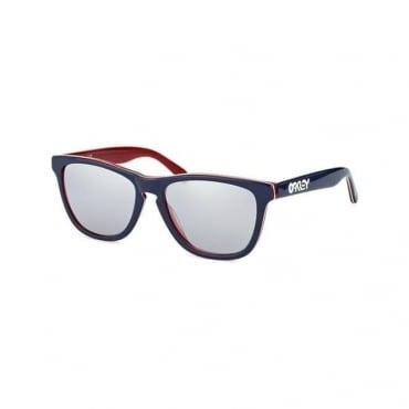Oakley Frogskins Navy Sunglasses