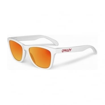 Oakley Frogskins 24-307 Polished White