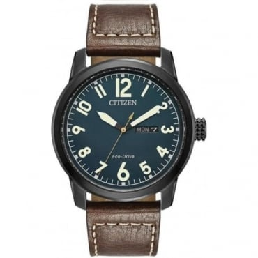 Citizen Mens Military Strap Watch - BM8478-01L