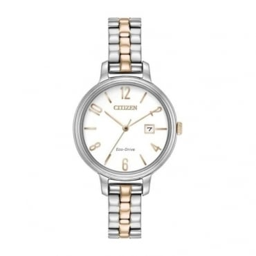 Citizen Ladies Silhouette Eco-Drive Watch - EW2446-57A