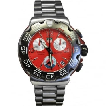 Men's Stainless Steel Formula 1 Chronograph Watch