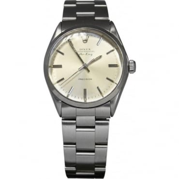 Pre-Owned Rolex Men's Stainless Steel Air King Watch