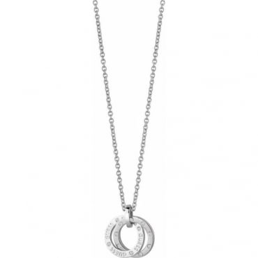 Guess Jewellery Crystal Circles Necklace