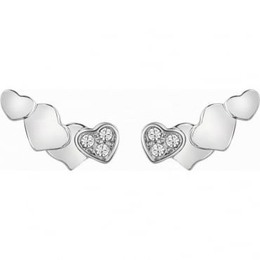 Guess Jewellery Tenderness Climber Stud Earrings
