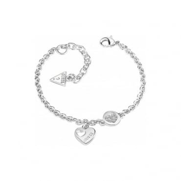 Guess Jewellery Heart Devotion Bracelet