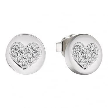 Guess Jewellery Heart Devotion Earrings