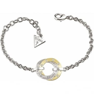 Guess Jewellery Yellow Gold E-motions Circles Bracelet
