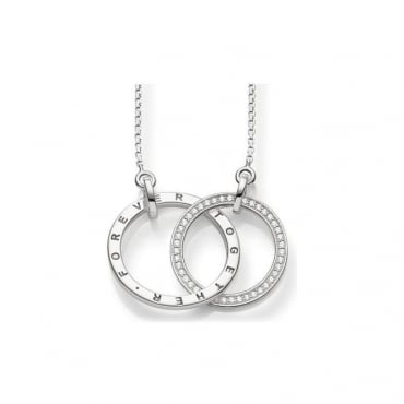 "Thomas Sabo Jewellery Necklace ""Together Forever"" - KE1489-051-14"
