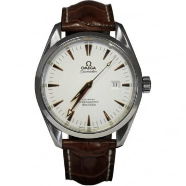 Pre-Owned Omega Men's Stainless Steel AquaTerra. Co-Axial Movement.