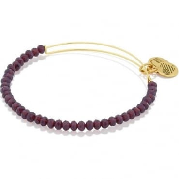Stardust Brilliance Beaded Bangle