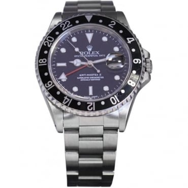 Pre-Owned Rolex Men's Stainless Steel GMT Master II