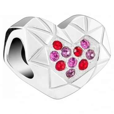 Chamilia Faceted Heart 2025-1761