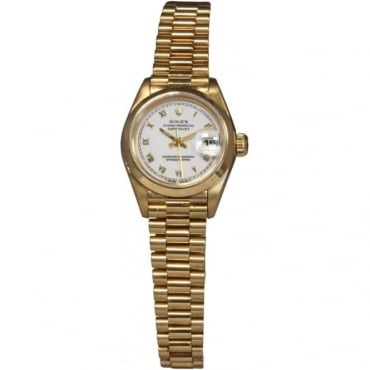 Ladies 18ct Yellow Gold DateJust Watch