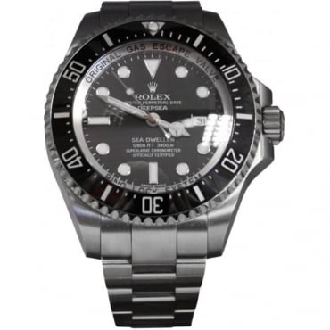 Pre-Owned Rolex Men's Stainless Steel Deep Sea Watch. 116660
