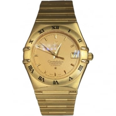 Pre-Owned Omega Men's 18ct Yellow Gold Constellation Watch