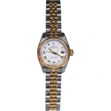 Ladies Bi-Metal DateJust Watch