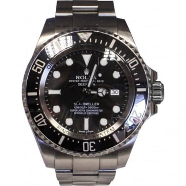 Men's Stainless Steel Sea-Dweller DeepSea Watch