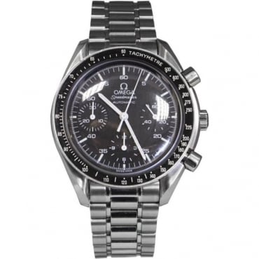 Pre-Owned Omega Men's Stainless Steel Speedmaster Watch