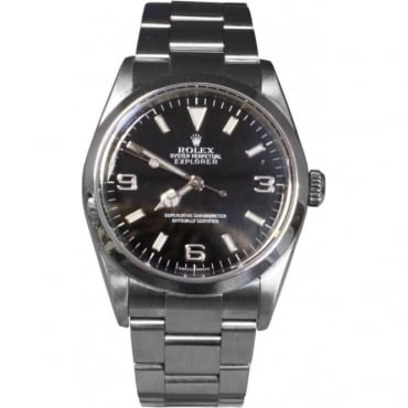 Men's Stainless Steel Explorer Watch