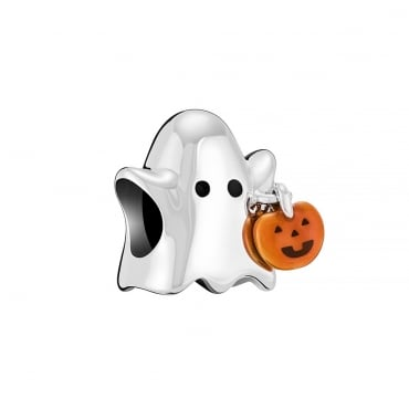 Chamilia Ghost with Pumpkin - 2020-1041
