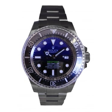 Men's Deepsea D-Blue Sea-Dweller 116660