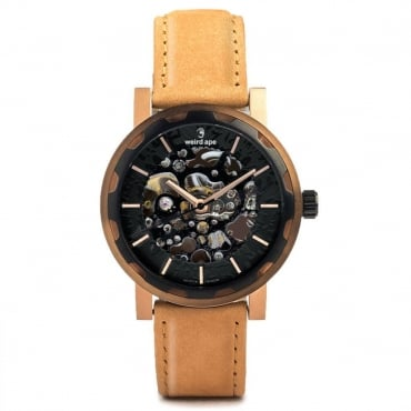 Kolt Black Rose Gold Watch WA02-005542