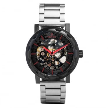 Kolt Stainless Steel Black Red Watch WA02-005505