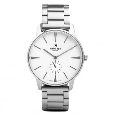 Mayfair White Silver Watch WA02-005640